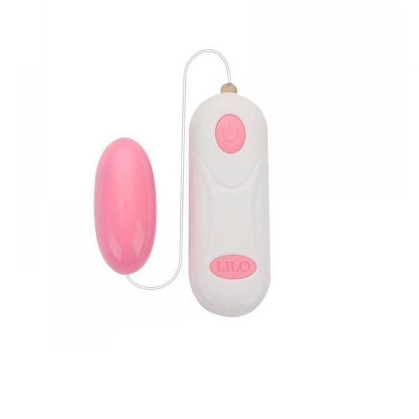 OV001B - Cápsula Vibratória com Controle de Fio com 5 Modos de Vibração | Cor: Branco