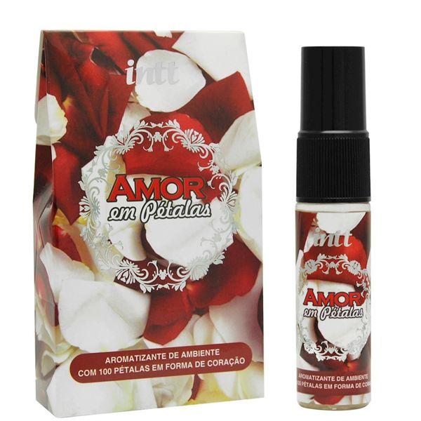 AMOR EM PÉTALAS - Pétalas Artificiais em formato de coração com Perfume Afrodisíaco | Contém: 100 unidades