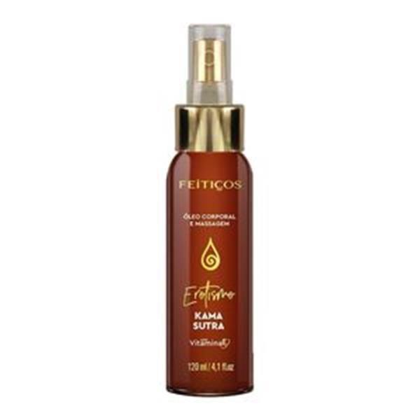 FEITIÇOS - Óleo Afrodisíaco Para Massagem - Significado: Erotismo Aroma: Kama Sutra