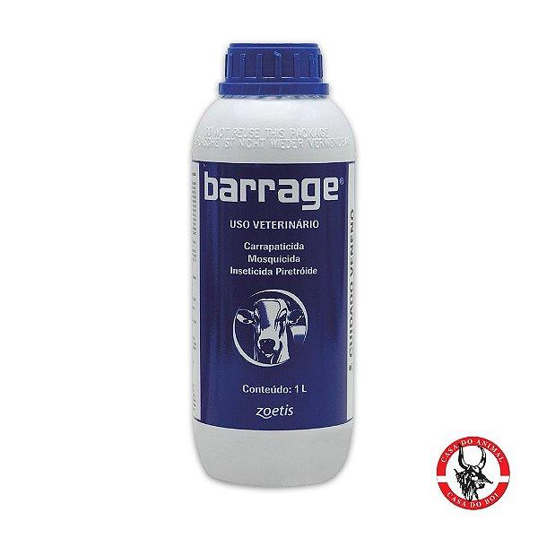 Barrage - Carrapaticida, Mosquicida e Inseticida Piretroide - 1 Litro