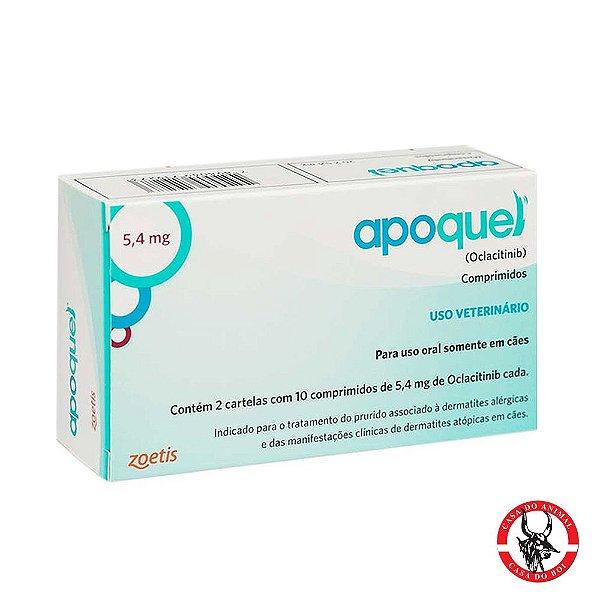 Apoquel - Dermatites Alérgicas p/ Cães  - 3,6mg - 20 Comprimidos