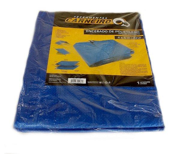 Lona Plástica Multiuso 10x8 metros Azul c/ilhoses - Pct c/1