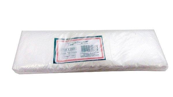 Saco plástico p/talheres 07x23/500 - Pct c/3 mil