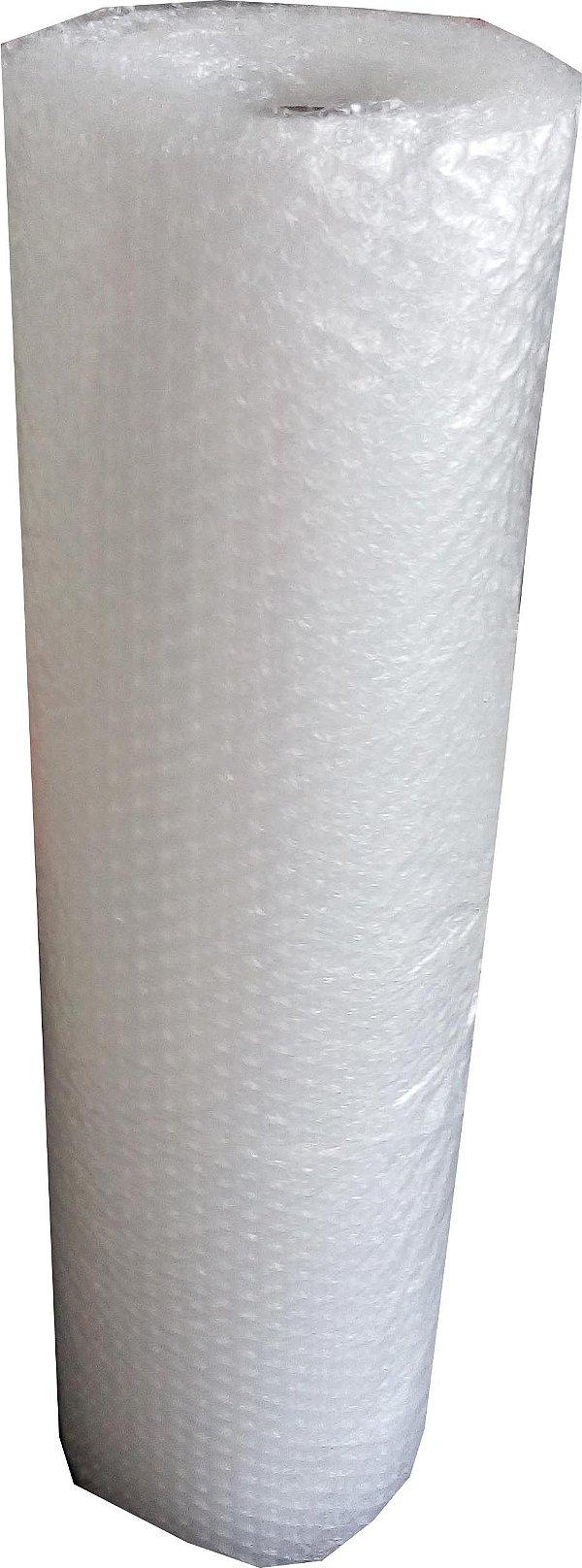 Plástico Bolha 60cm x 10m - Pct c/4
