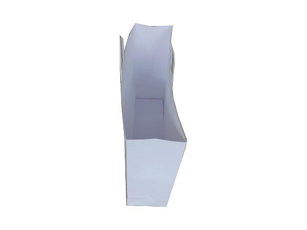 Sacolas de papel brancas 180g 50x14x41cm - Pct c/50