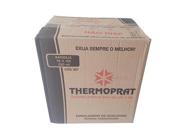 Bandeja alum retang 95x125 230 ml Cx c/400