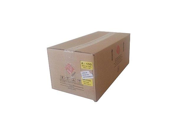 Bandeja PP A150 bege 223x174x60 1.500 ml C/Tampa - Cx c/50