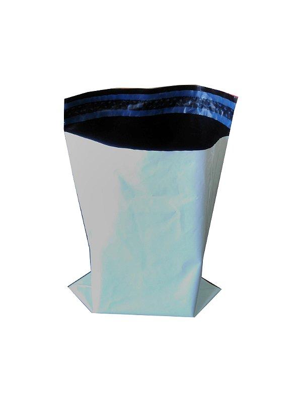 Envelope Plástico Segurança Lacre 19x25cm - Pct C/500