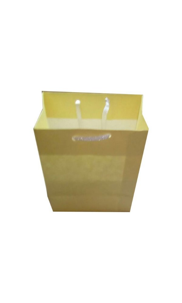 Sacolas de papel kraft 135g 12x7x15 cm - Pct c/150