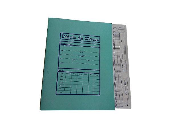 Diário De Classe Bimestral ref 085 - Pct C/100 Unidades