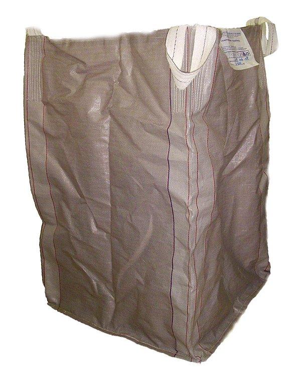 Big Bag de Ráfia Convencional 90x90x120 p/1.000 kg - Pct c/5