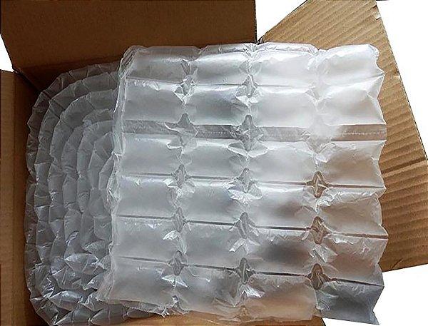 Almofada de ar 10x6cm em manta de 40cm de largura - Cx c/10 metros