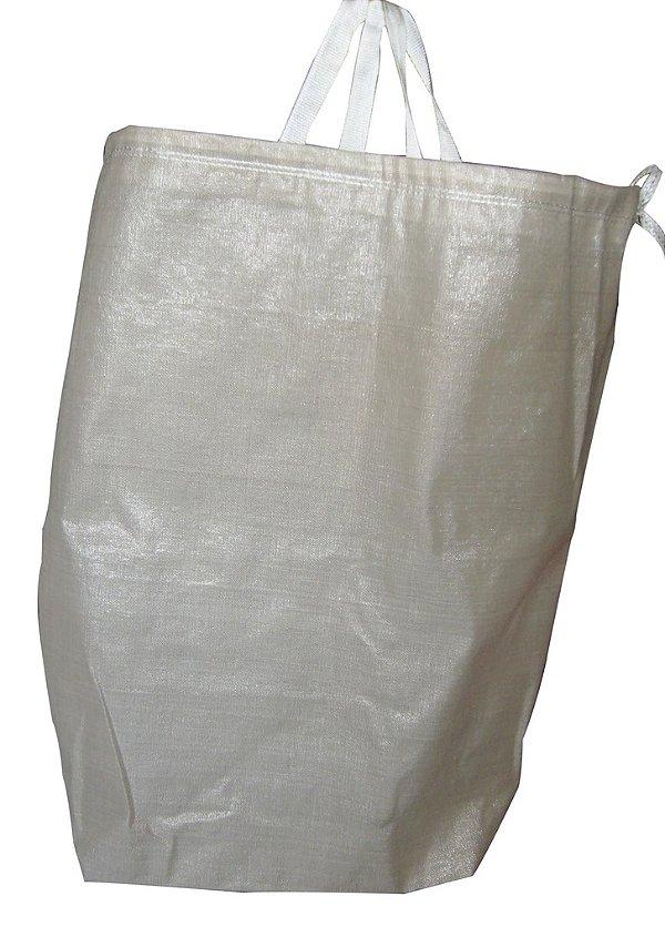 Sacos de Ráfia p/Lavanderia HB 1x0,90 m c/cadarço e alça - Pct c/5