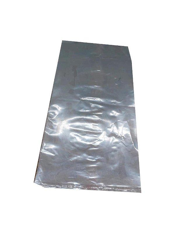 Saco Plástico p/Gelo 15kg 50x80x012 - Pct 5kg ou 105 unidades