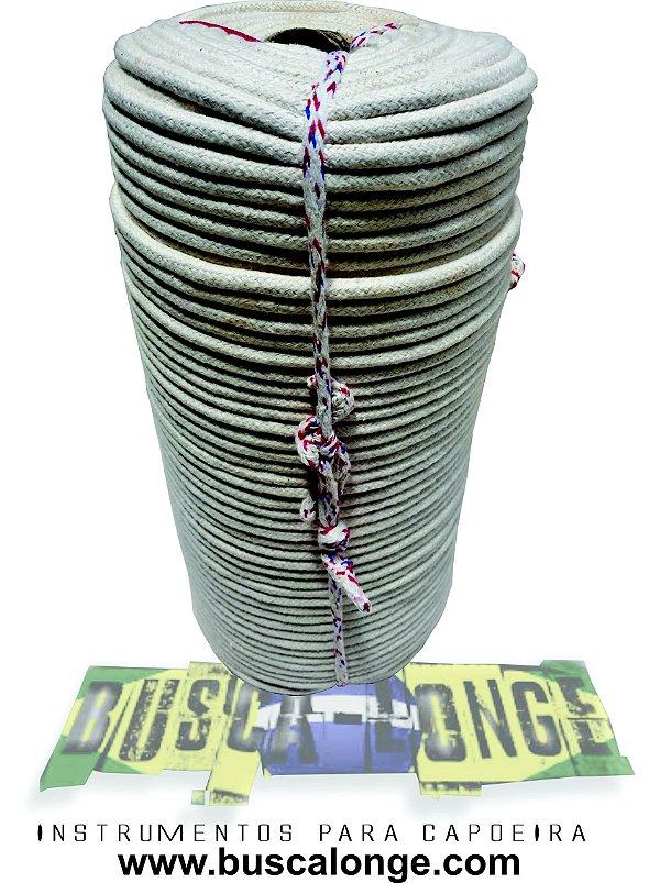 Rolo de corda de Algodão para Capoeira  8 mm com 220 metros