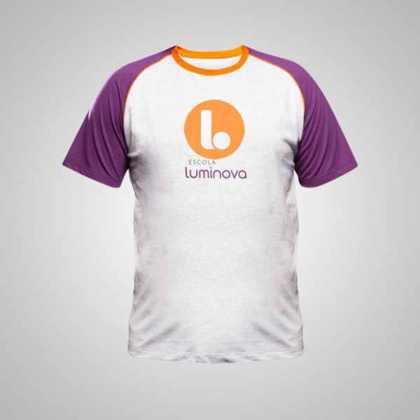 C - Camiseta Manga Curta - Ensino Fundamental II - Uniforme Luminova