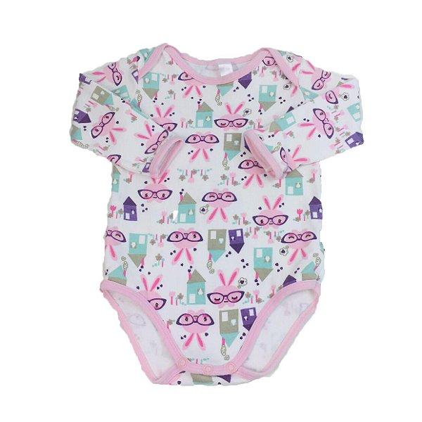1158f068f9 Body para Bebê Coelhinha Liberta - Brechó Infantil Mundo Kids