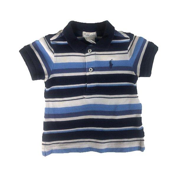 Camisa Polo Masculina Ralph Lauren Tam. 3 meses - Brechó Infantil ... c1b869c71be2b