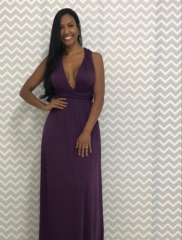 vestido longo uva