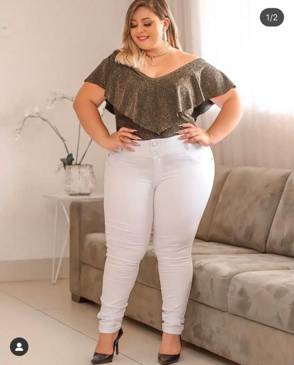 Calça Lady Branca