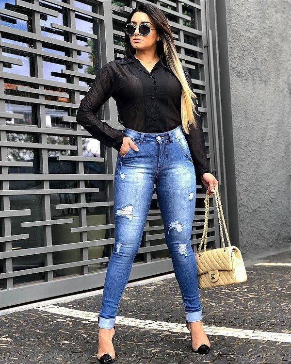 Calça Jeans Patrícia Guimarães