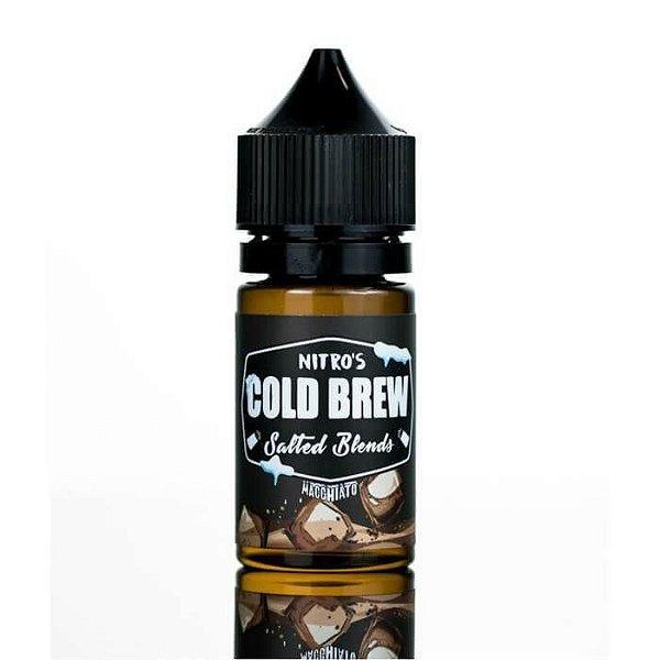 Nic Salt Macchiato Salted Blends 30mL - Nitro's Cold Brew