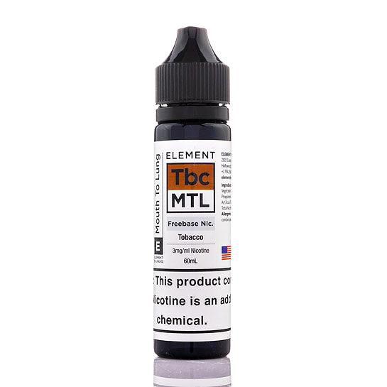 Juice Element Tobacco MTL 60mL - Element E-liquids