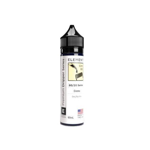 Juice Element Dripper Crema 60mL - Element E-Liquids