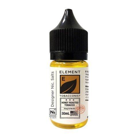 Nic Salt Element Tobacco Honey Roasted 30mL - Element E-Liquids