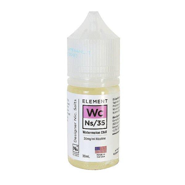 Nic Salt Element Watermelon Chill 30mL - Element E-Liquids