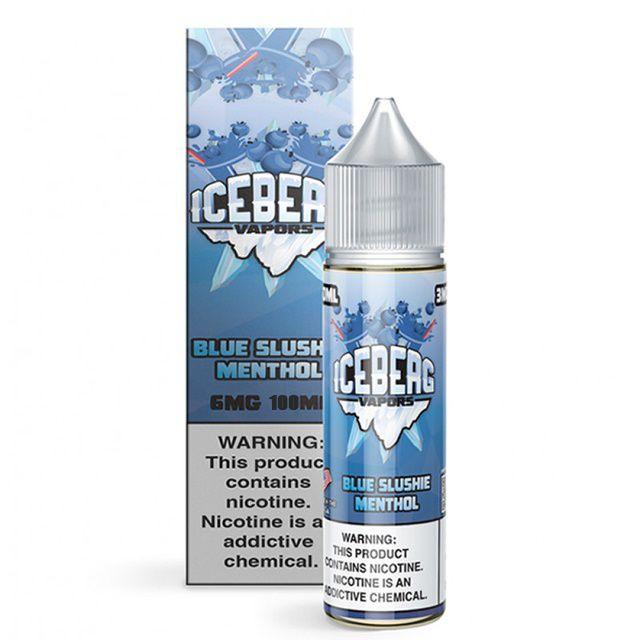 Juice Ice Blue Slushie Menthol 100mL   Iceberg