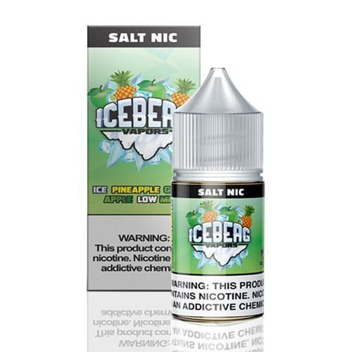 Nic Salt Ice Pineapple Guava Low Mint 30mL   Iceberg