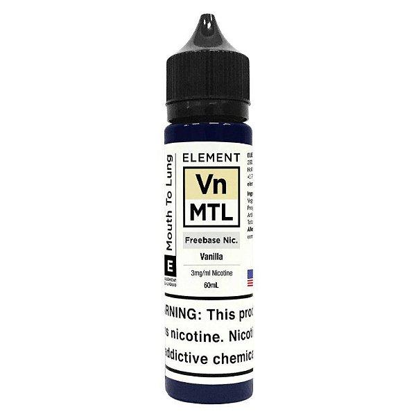 Juice Element MTL Vanilla 60mL - Element E-Liquids