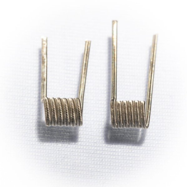 Coil Staggered Fused Clapton N80   RBR Coil