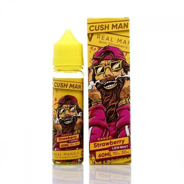 Cush Man Mango Strawberry  - 60mL - Nasty Juice