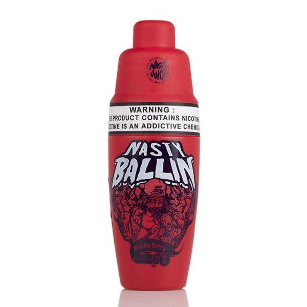 Nasty Ballin E-Liquid Bloody Berry 60mL - Nasty Juice