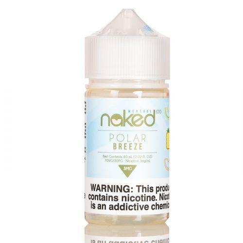 Juice Naked Polar Breeze 60mL - Naked 100 Menthol