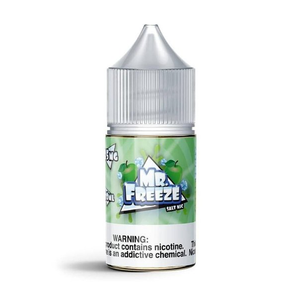 Mr. Freeze Salt Apple Frost NicSalt 30mL - Mr. Freeze E-Liquids