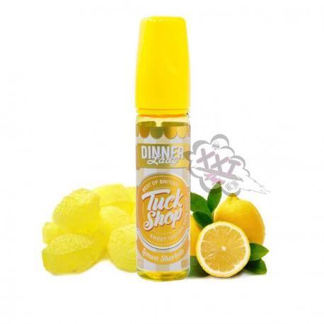 Juice Dinner Lady Tuck Shop Lemon Sherbets 60mL - Dinner Lady