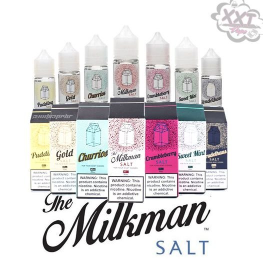 Milkman Salt  - SaltNic - 30mL - The Milkman