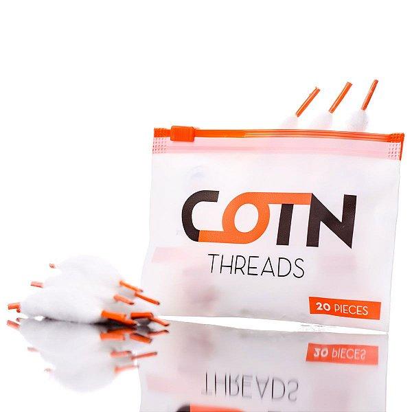 COTN Threads Algodão Orgânico 20 Peças - COTN