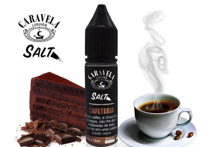 Salt Cafeteria 15mL - Caravela Liquids