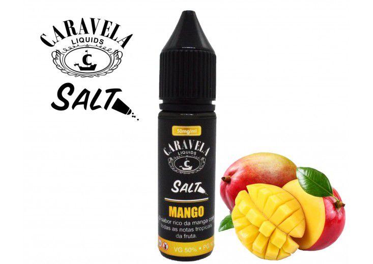 Salt Mango 15mL - Caravela Liquids