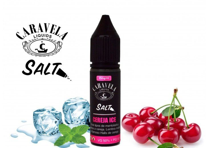 Salt Cereja Ice 15mL - Caravela Liquids