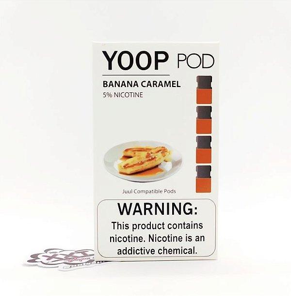 Refíl YOOP Pods Banana Caramel - YOOP Vapor