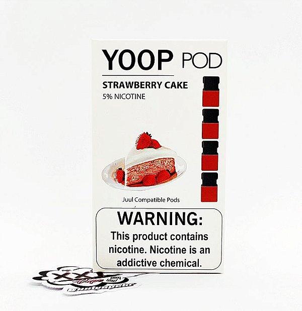 Refíl YOOP Pods Strawberry Cake - YOOP Vapor
