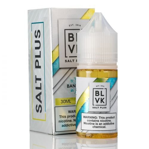 BLVK Nic Salt Plus Banana Ice 30mL - BLVK UNICORN