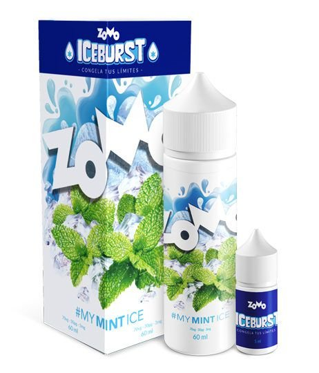 #My Mint Ice Zomo Iceburst 60mL - Zomo