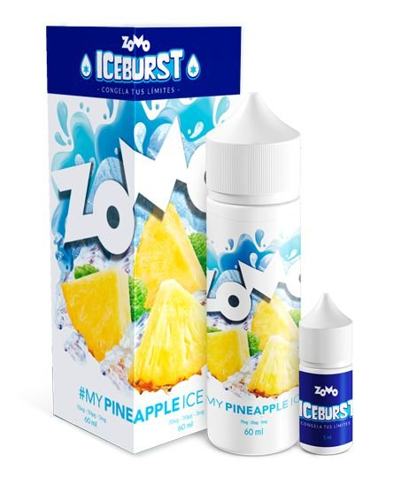 #My PineApple Ice Zomo Iceburst 60mL - Zomo