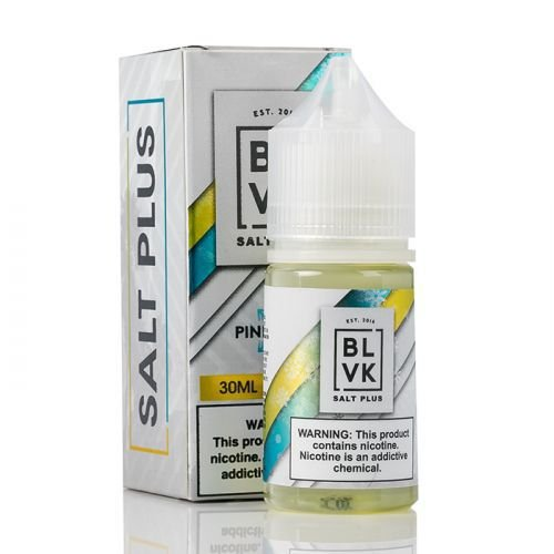BLVK Nic Salt Plus Pinneaple Ice 30mL - BLVK UNICORN
